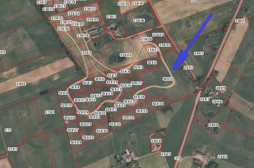 Sprzedaż nieruchomości gruntowej niezabudowanej w Tałtach k/Mikołajek